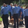 Firefighters pay tribute to last 9/11 search dog