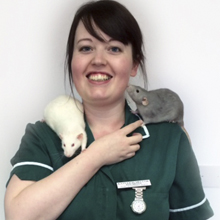Kayleigh <br> RVN MBVNA : Head Veterinary Nurse